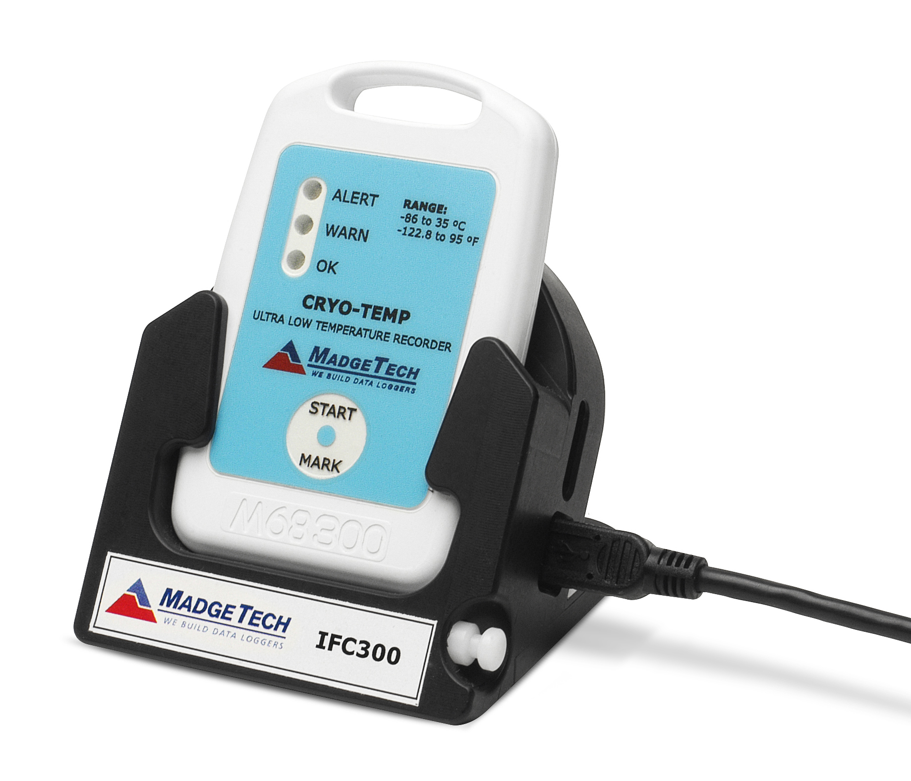 Cryo Temp ultra low temperature data logger