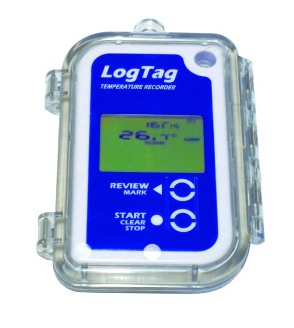 waterproof temperature data logger enclosure