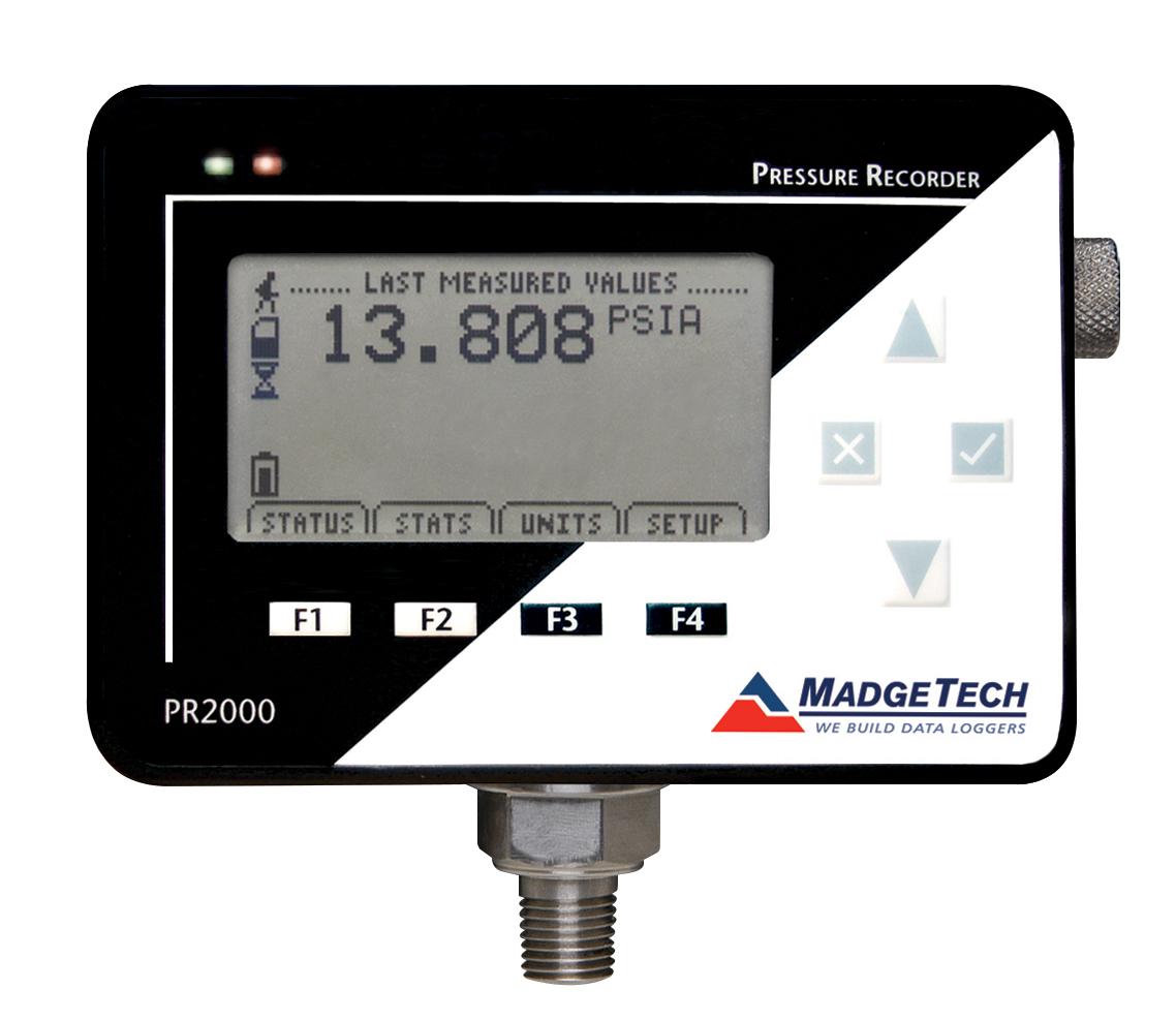 PR2000 pressure data logger