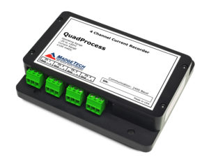 QuadProcess 4 channel current data logger