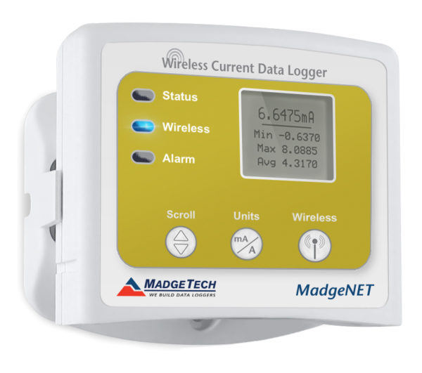 RFCurrent2000A wireless current data logger