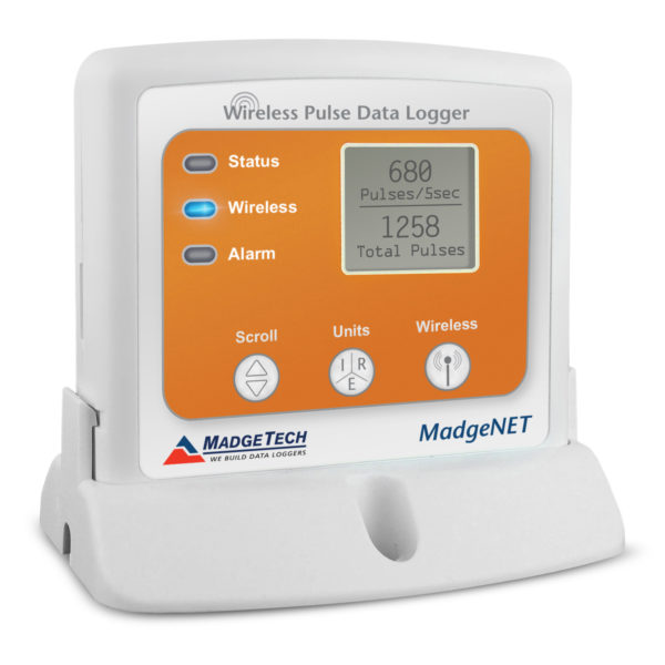 RFPulse2000A wireless pulse data logger