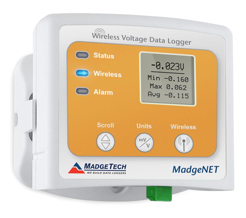 RFVolt2000A wireless voltage data logger