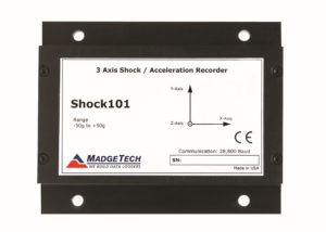 Shock101 shock data logger