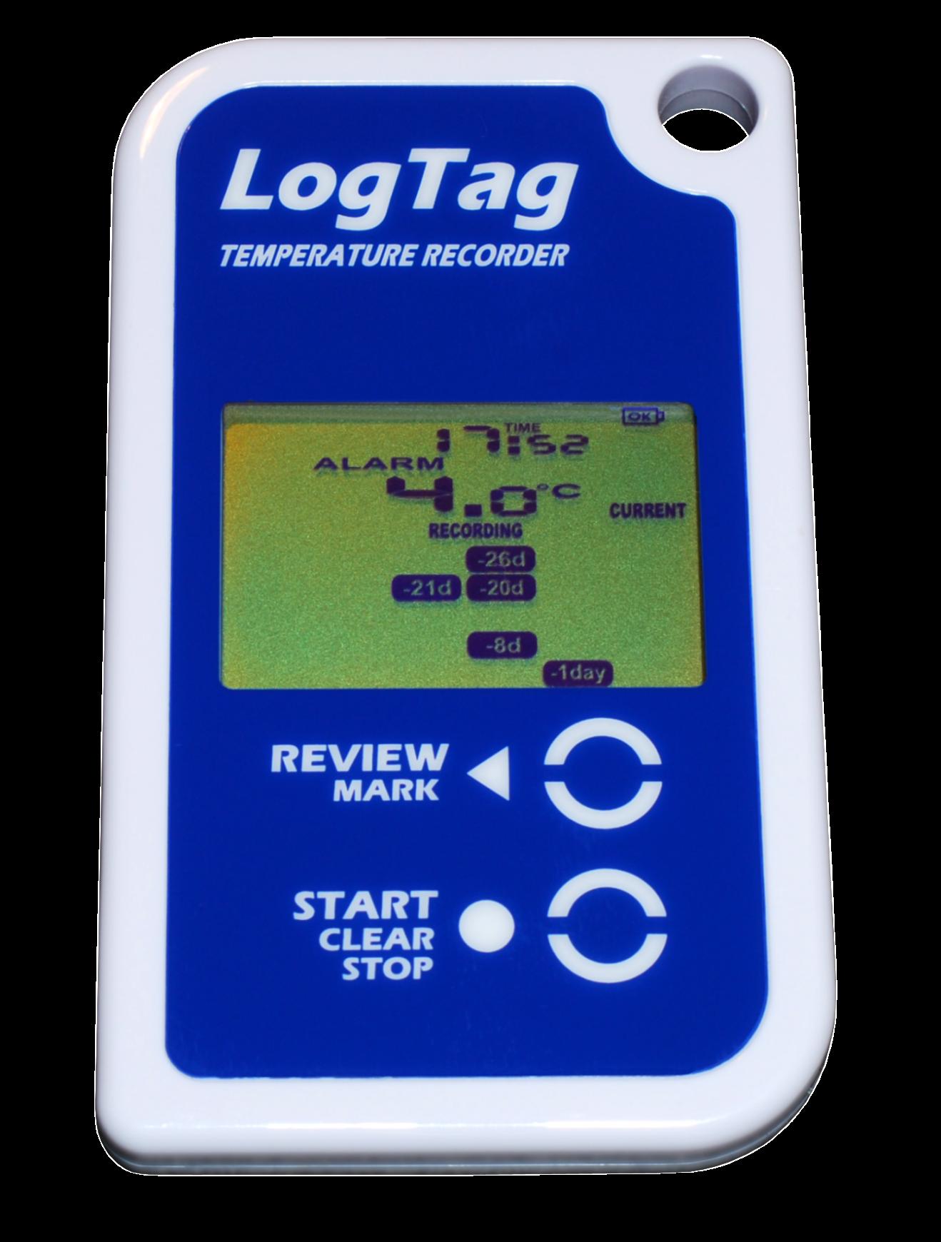 Temperature Data Logger : Logtag trid r temperature data logger