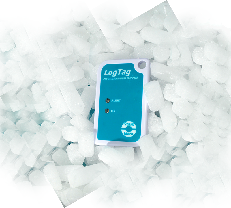 TRIL 8 dry ice data logger