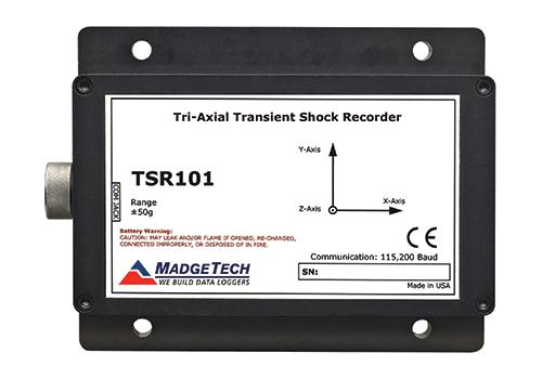TSR101 shock data logger