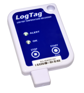 USB data logger with PDF