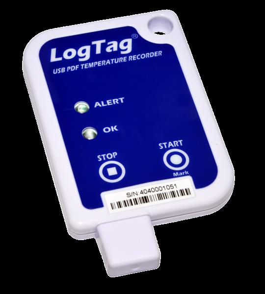 USB data logger with PDF