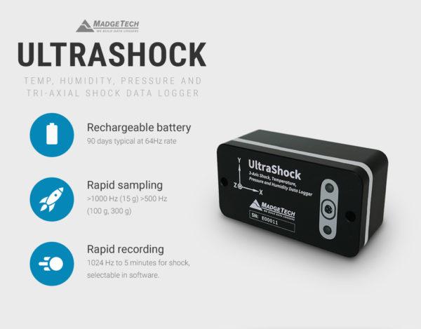 ULTRASHOCK vibration monitoring system