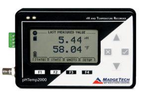 pHTemp2000 pH and temperature data logger