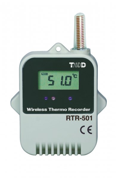 Wireless Temperature Logger : Rtr wireless temperature data logger t d at loggershop