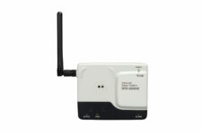 LAN Ethernet base station with email alarms