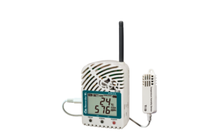 wireless Co2, temperature and humidity data logger