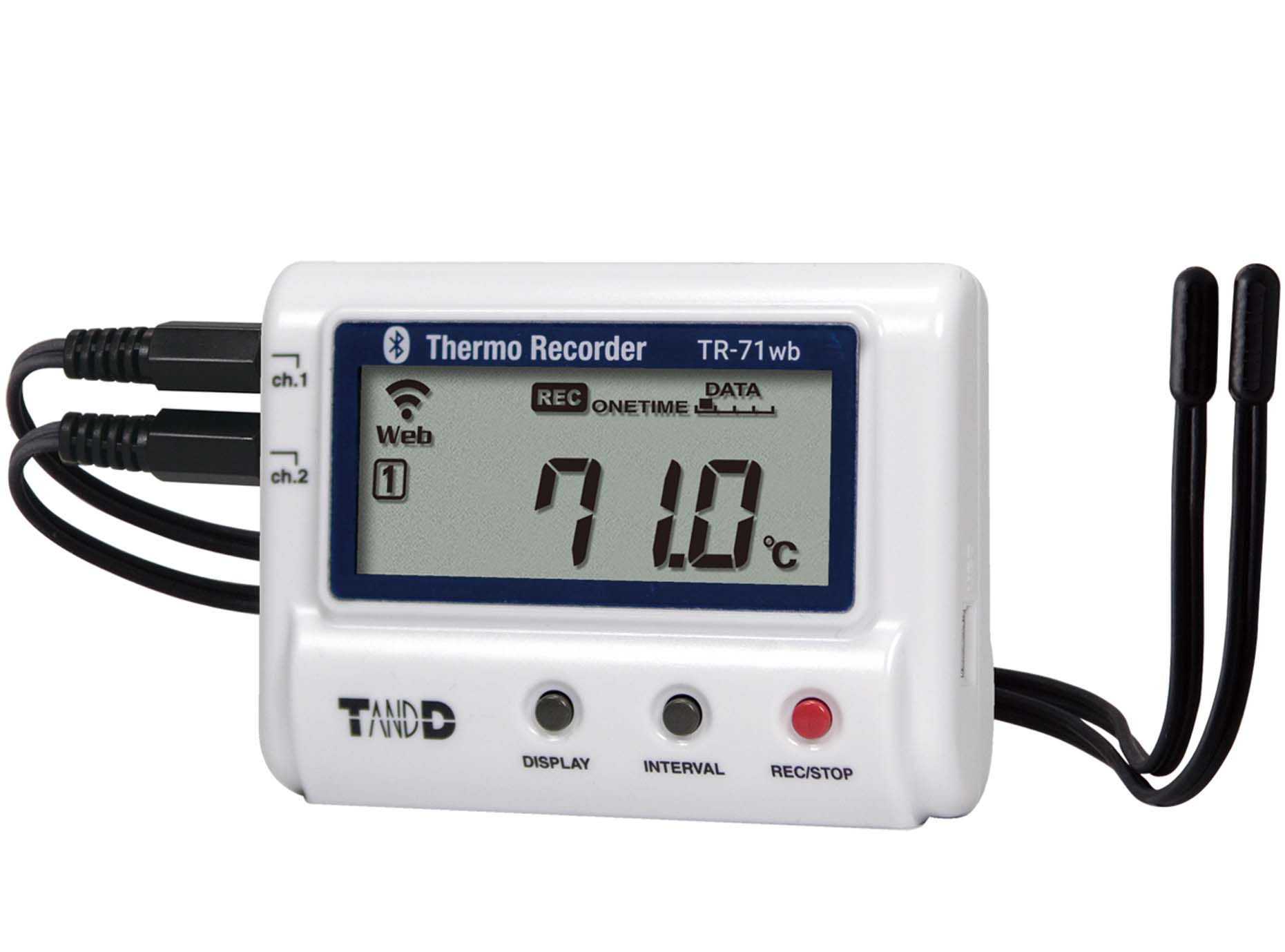 T&D Launch New Wireless Data Logger: TR-71WB