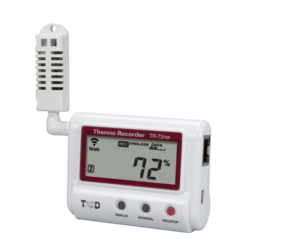 Ethernet humidity temperature data logger