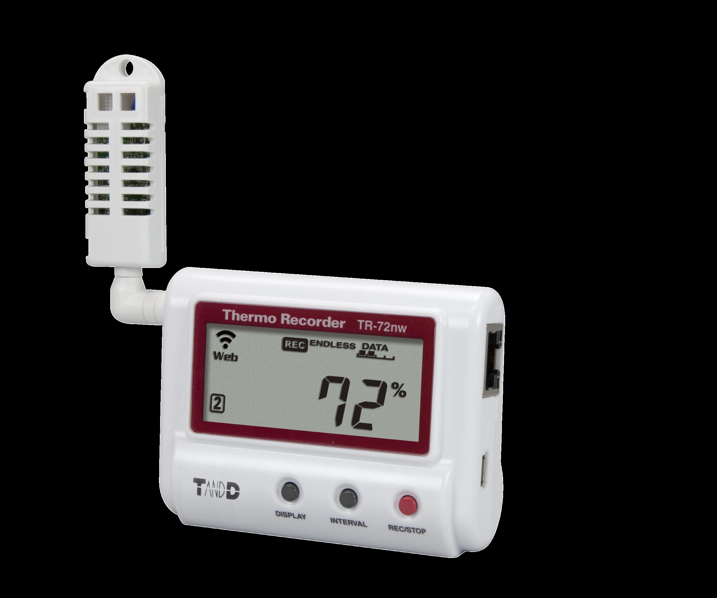 Temperature Data Logger : Tr nw humidity and temperature data logger