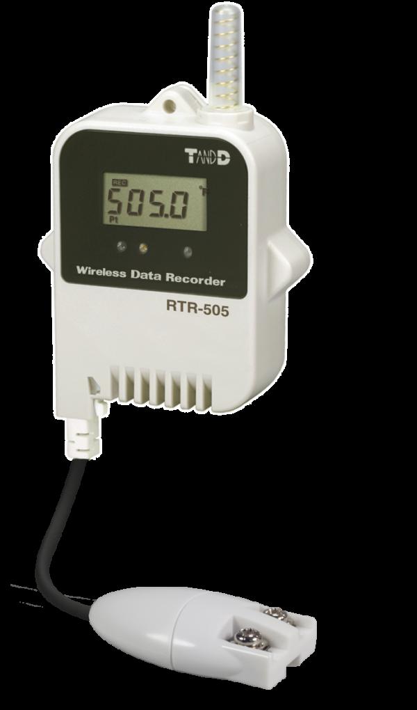 Pt100 wireless data logger