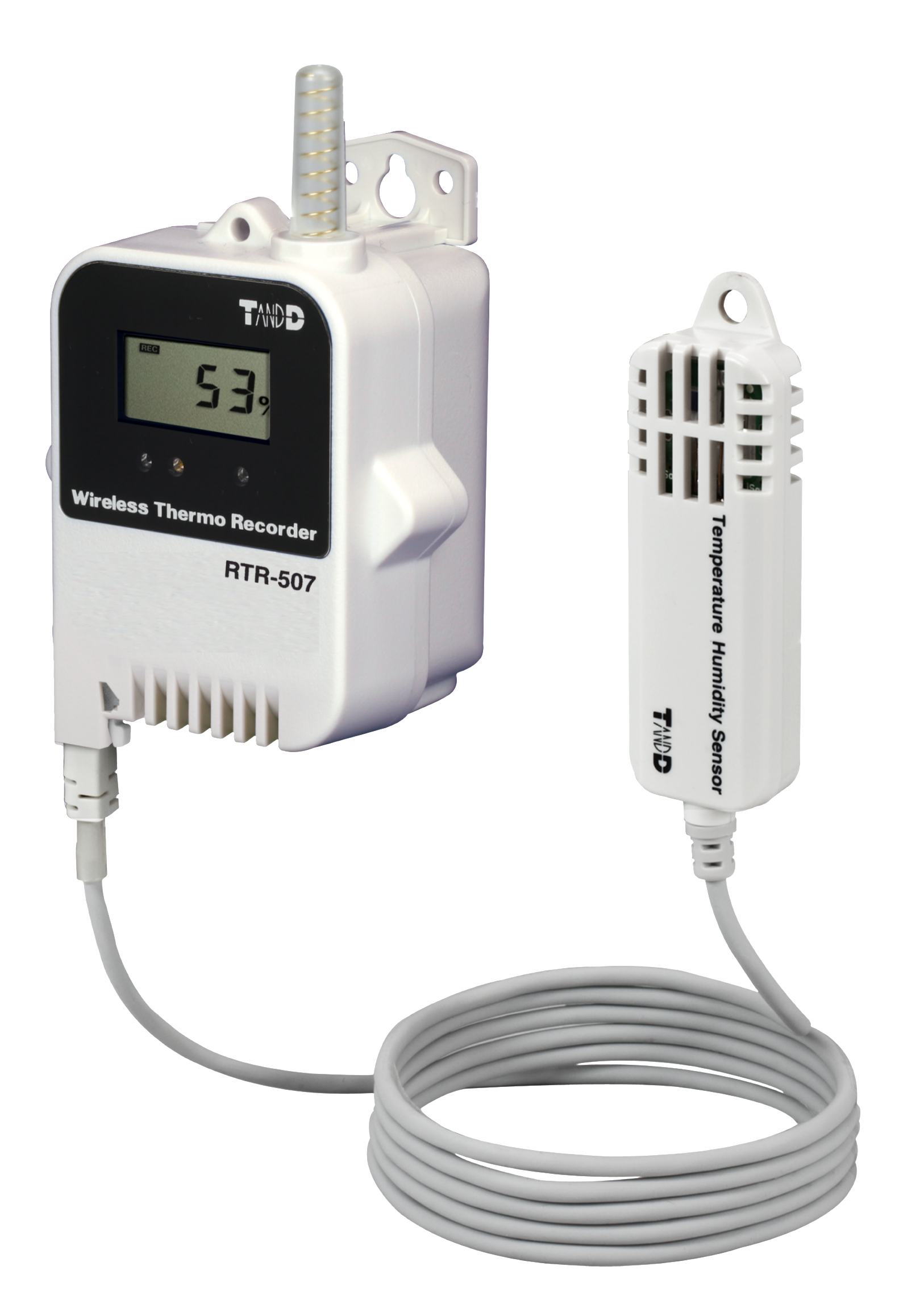 Wireless Temperature Logger : Rtr humidity temperature data logger external sensor