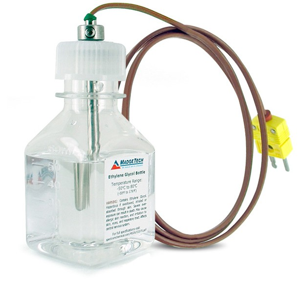 Thermocouple fridge buffer