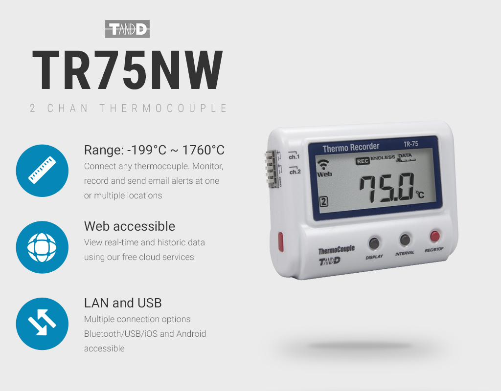 TR-75NW Data Logger